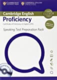 Speaking Test Preparation Pack for Cambridge English Proficiency for Updated Exam with DVD