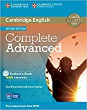 Complete Advanced Student's Book with Answers with CD-ROM Second Edition