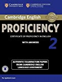 Cambridge English Proficiency 2 Student's Book with Answers with Audio