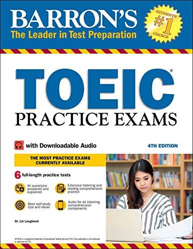 Barron's TOEIC Practice Exams (Downloadable Audio)