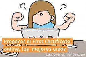 Preparar el First Certificate online, las 12 mejores páginas web