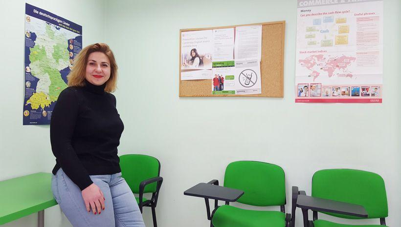 Entrevistamos a Valentina, profesora de inglés en academia