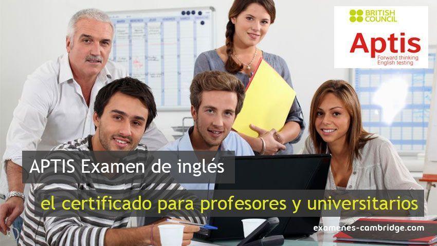 APTIS, el examen de inglés más demandado por profesores y universitarios
