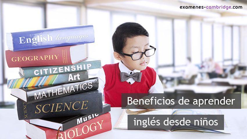6 beneficios de aprender inglés desde niños